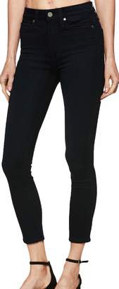 Paige Women's Jean Margot Crop Tonal Mona HIGH Rise Skinny Jeans40521 2393