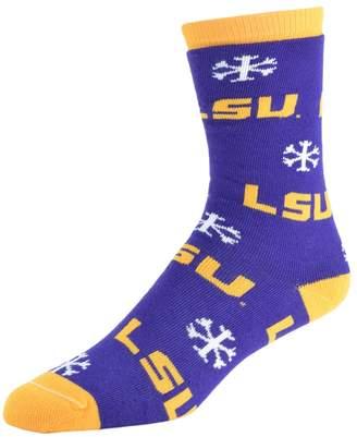 NCAA Kohl's Women's LSU Tigers Snow Dayz Crew Socks