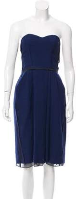 Chloé Strapless Wool Dress