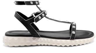 Valentino Free Rockstud suede sandals
