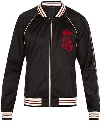 Dolce & Gabbana College style bomber jacket