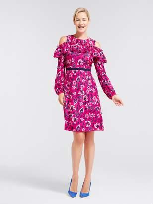 Draper James Francie Floral Off The Shoulder Dress