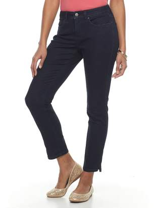 Croft & Barrow Women's Straight-Leg Ankle Jeans
