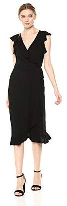 Velvet by Graham & Spencer Women's Sedona Slub Wrap Dress