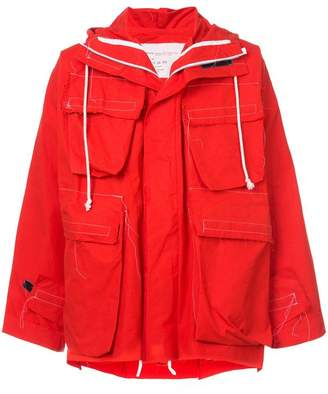 Camiel Fortgens short hooded coat