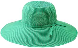 Co San Diego Hat Ribbon Braid Sun Hat with Tie
