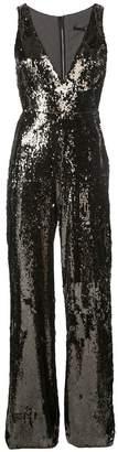 Jay Godfrey embellished flared jumpsuit