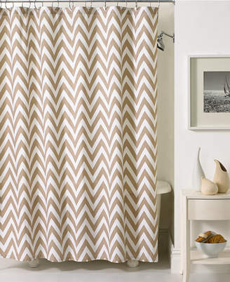 At Macyu0027s Kassatex Bath Accessories, Chevron Shower Curtain