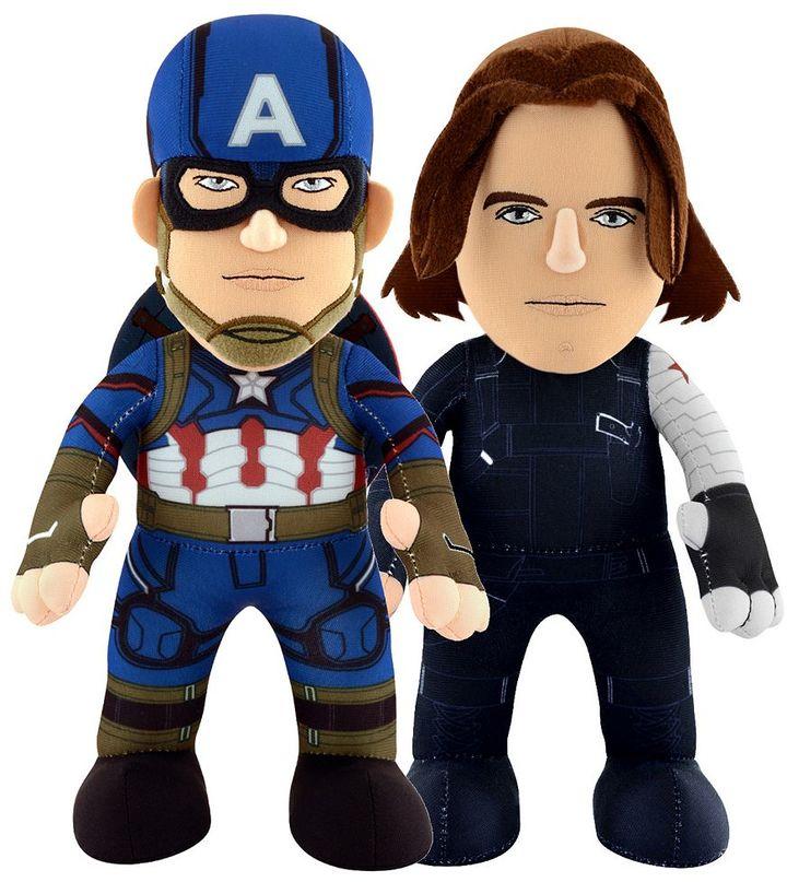 Bleacher creatures Marvel Captain America: Civil War Captain America & Winter Soldier 10-in. Dynamic Duo Set by Bleacher Creatures