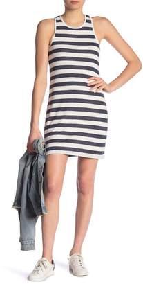 Splendid Striped Scoop Neck Dress