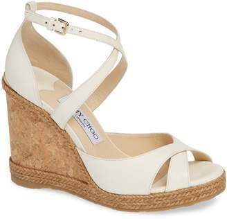 28871e3baa8 Jimmy Choo Espadrille Wedge Women s Sandals - ShopStyle