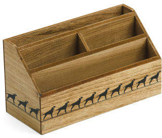 Letter Sorter Tray With Dog Print