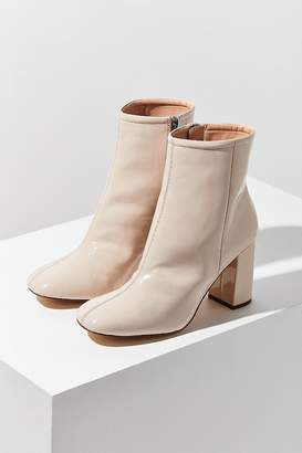 Urban Outfitters Sloane Seamed Patent Ankle Boot