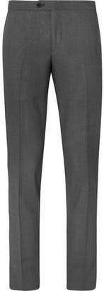 Thom Sweeney Dark-Grey Slim-Fit Wool Suit Trousers