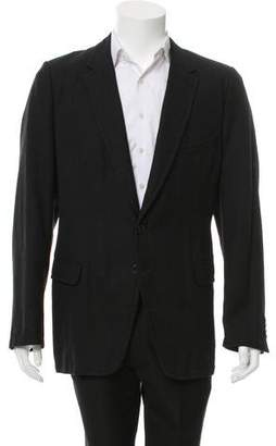 Dries Van Noten Wool & Linen-Blend Blazer