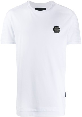 Philipp Plein patch detail T-shirt