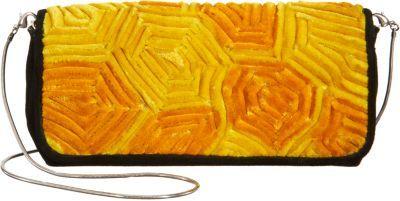 Dries Van Noten Textured Velvet Small Clutch