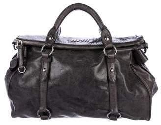 Miu Miu Leather Bow Satchel
