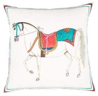 John Robshaw Steed Throw Pillow