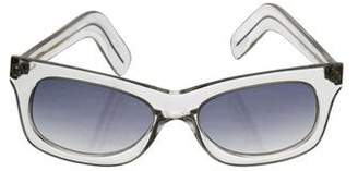 clear Cutler and Gross Tinted Sunglasses
