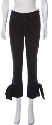 Paige Denim Mid-Rise Straight-Leg Jeans w/ Tags