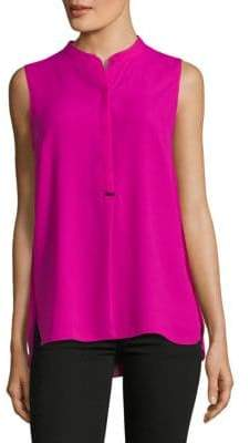 T Tahari Moana Sleeveless Blouse