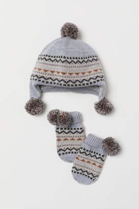 H&M Hat and mittens