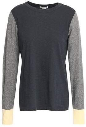 Rag & Bone Paneled Pima Cotton-Jersey Top