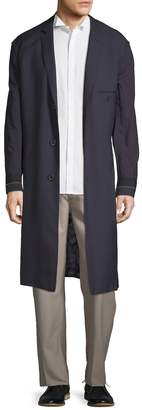 Lanvin Men's Wool Longline Jacket