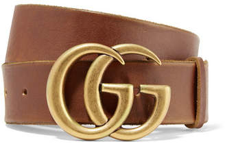 Gucci Leather Belt - Brown