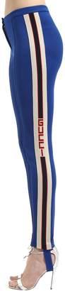 Gucci Jersey Leggings W/ Vintage Logo Bands
