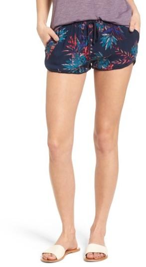 Women's Roxy Mystic Topaz Print Shorts
