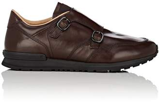 Tod's MEN'S DOUBLE-MONK-STRAP LEATHER SNEAKERS