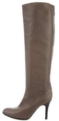 Veronique Branquinho Leather Knee-High Boots