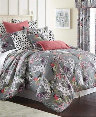 Colcha Linens Birds In Bliss Comforter Set Super King Bedding