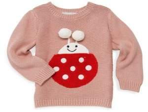 Stella McCartney Baby Girl's Lady Bug Thumper Sweater