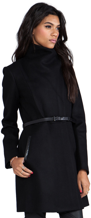 Mackage Valencia Flat Wool Coat
