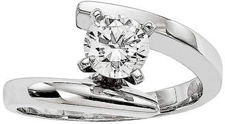 MODERN BRIDE 1/2 CT. Diamond 14K White Gold Solitaire Ring