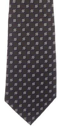 Luciano Barbera Patterned Silk Tie w/ Tags