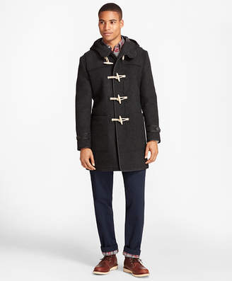 Brooks Brothers Double-Faced Wool Duffle Coat