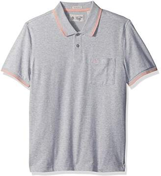 Original Penguin Men's Short Sleeve 56 Performance Polo 65/35 Cotton/Polyester