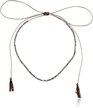 Chan Luu Adjustable Nuggets Choker Necklace