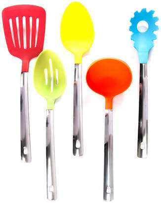 Asstd National Brand Gibson 5 pc Multicolored Kitchen Tool Set