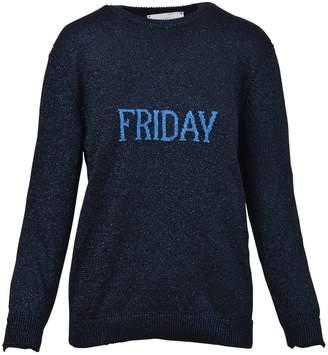 Alberta Ferretti Blue Friday Sweater