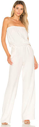 RAMY BROOK Allie Jumpsuit in White $475 thestylecure.com