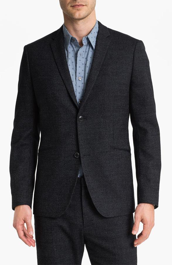 Theory 'Rodolf Wolcott' Wool Blend Tweed Blazer