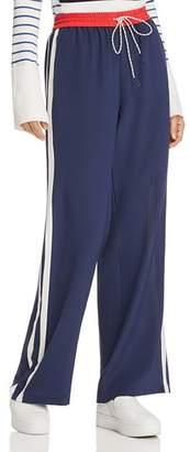 Joie Perlyn Silk Track Pants