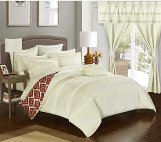 Adina Chic Home 20-Pc Queen Comforter Set Bedding