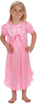 Laura Dare Big Girls Short Sleeve PJ Nightgown