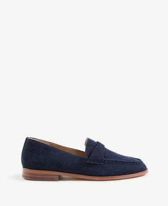 Ann Taylor Audriana Suede Loafers